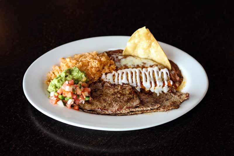 Mexican Restaurant Lunch Menu
