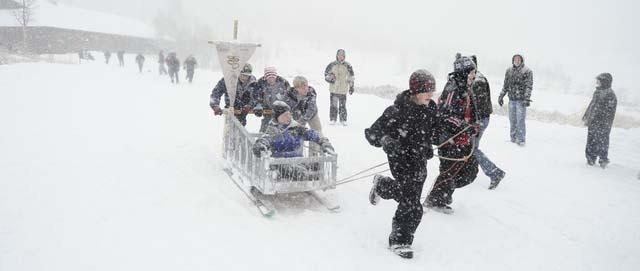 Klondike sled race