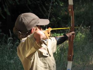 Boulder Creek Scout Reservation archery