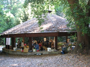 Boulder Creek Scout Reservation pavilion exterior