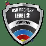 USA Archery Level 2 Instructor logo