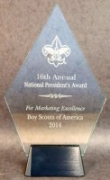 16th Annual Mktg Awards award