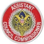 Assistant Council Commissioner patch