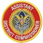 Assistant District Commissioner patch