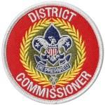 District Commissioner patch