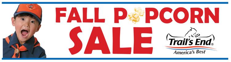 Popcorn Sale header