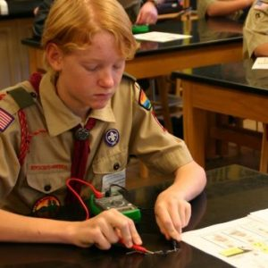 Scout learning electronics