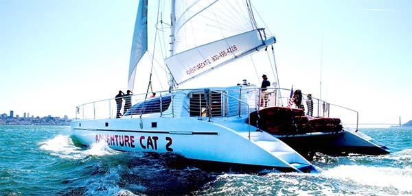 Adventure Cat 2 boat