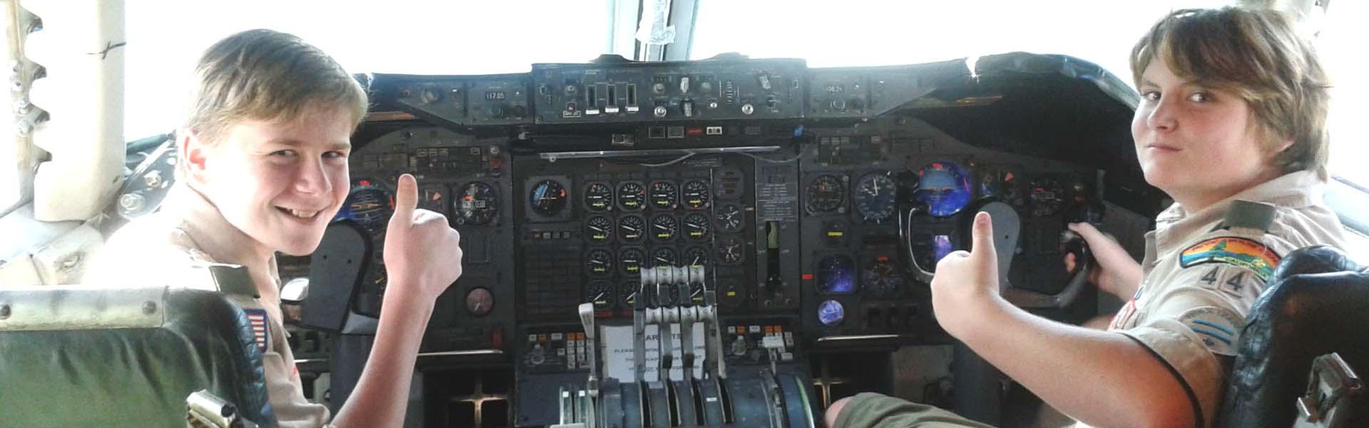 Hiller-Scouts-in-cockpit