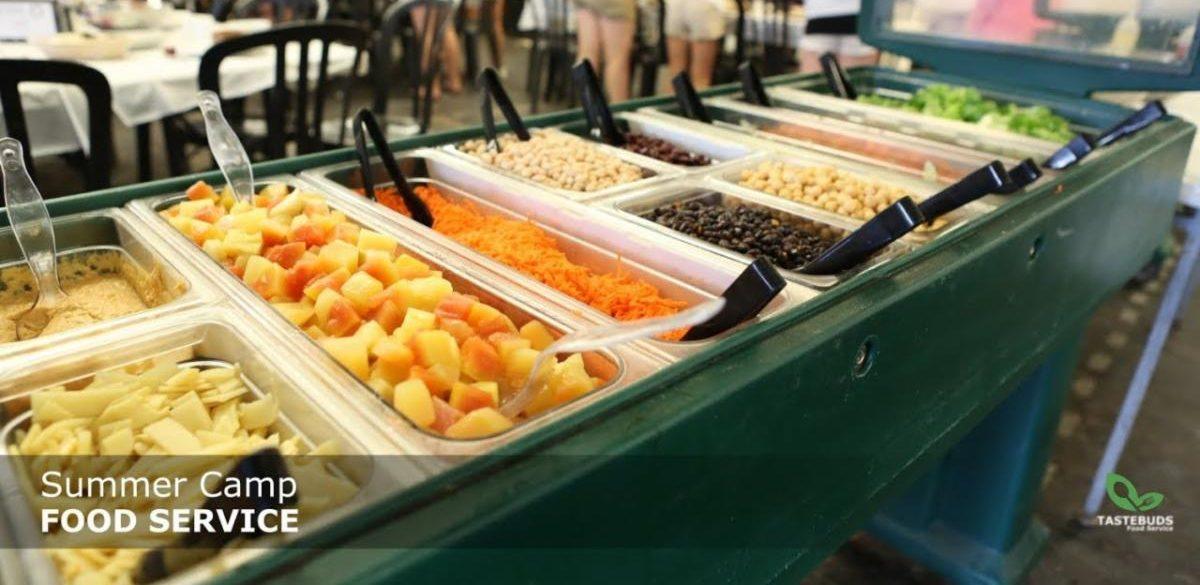 Tastebuds food service spread