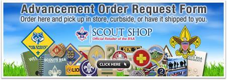 Order advancement items online