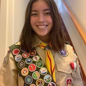 Eagle Scout Corinne N.
