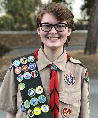 Eagle Scout Kathleen S.