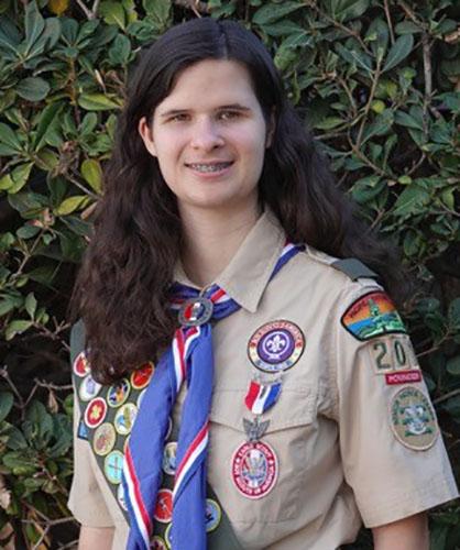 Eagle Scout Katie C.