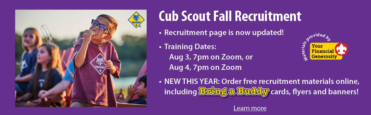 2021 Fall Recruitment banner