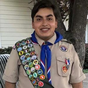 Mateo Sabio Paese, Eagle Scout