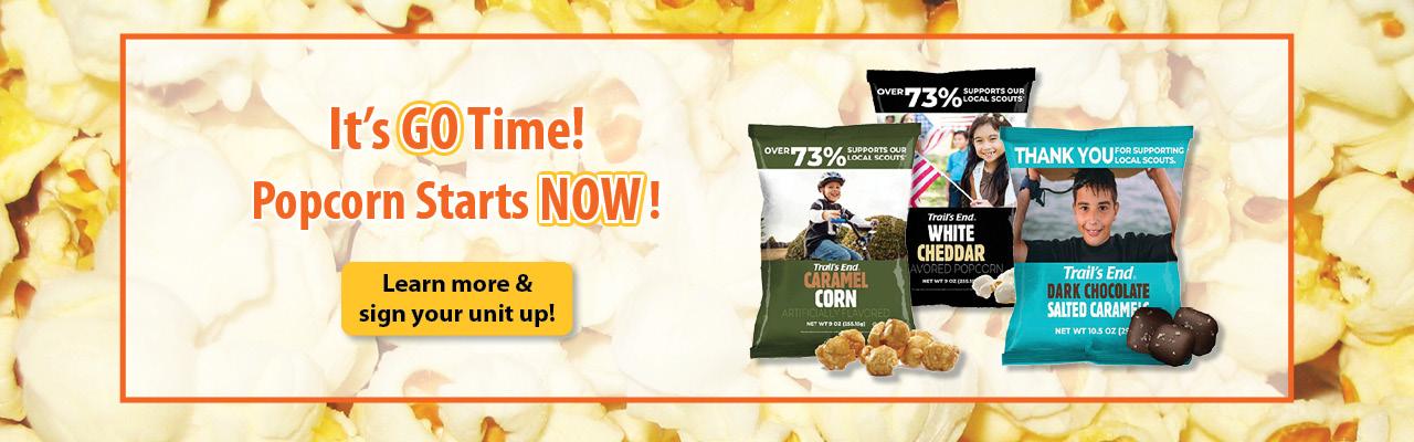 Popcorn Starts NOW! banner