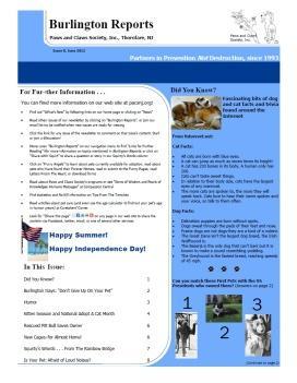 Burlington Reports- June 2012