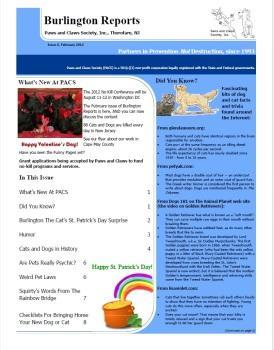 Burlington Reports - February 2012