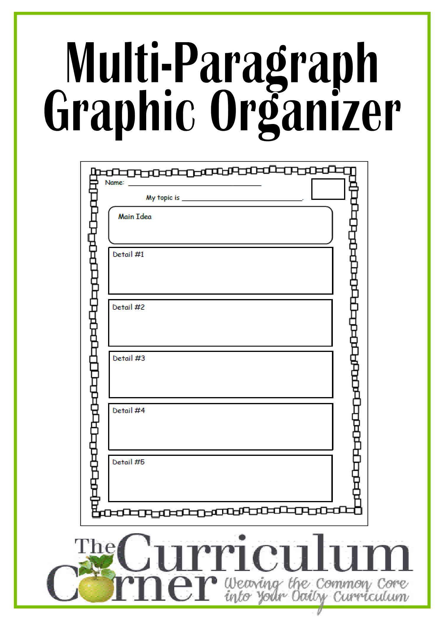 Informational Writing Graphic Organizer Michael Jordan