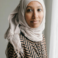 Mahin Ibrahim, contributor to the Pact Press anthology, Fury: Women's Lived Experiences in the Age of Trump