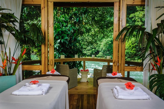 Romantic Getaway in the Rainforest