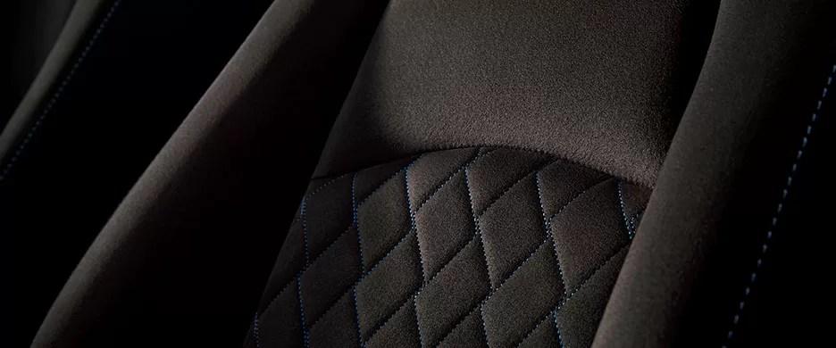 新型デミオ特別仕様車Mist Maroonシート