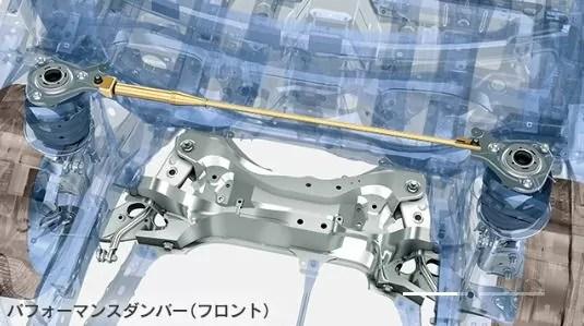 新型レクサスCT200パフォーマンスダンパー画像フロント