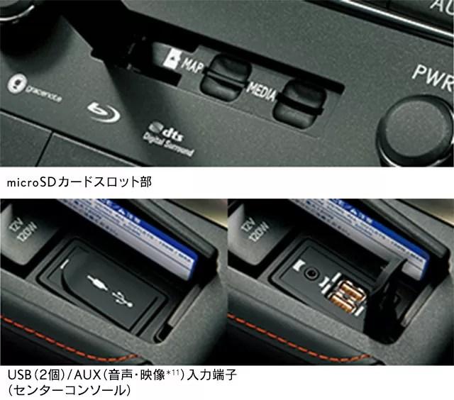 新型レクサスCT200内装画像