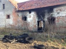 Pożar na ul. Robotniczej