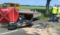 W wypadku pod Starym Paczkowem zginął motocyklista