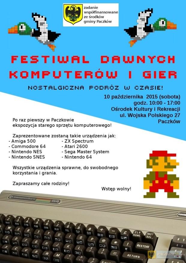 festiwal plakat paczków