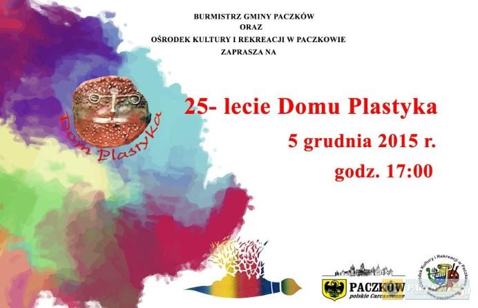 25-lecie istnienia Domu Plastyka w Paczkowie