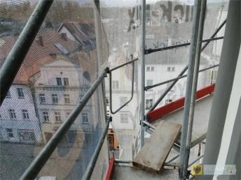 Trwa remont renesansowej wieży ratusza w Paczkowie