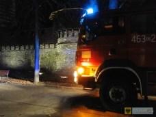 Podpalenie było najbardziej prawdopodobną przyczyną pojawienia się ognia na murach obronnych