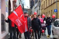 Marsz na otwarcie bazy rodzin Szlachetnej Paczki w Paczkowie, 21 listopada 2015 r.