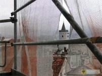 12 listopada | Nowe oblicze ratuszowej wieży i zegara | Zakończyły się dwa etapy remontu wieży paczkowskiego ratusza. Nowe oblicze zyskała renesansowa tarcza zegara odsłonięta w czasie prac. | http://paczkow24.pl/nowe-oblicze-ratuszowego-zegara/