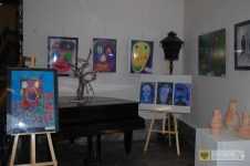 Wystawa semestralna w Domu Plastyka. 2016 r. Foto: OKiR Paczków