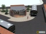 Koncepcja architektoniczna dworca autobusowego. Program funkcjonalno-użytkowy
