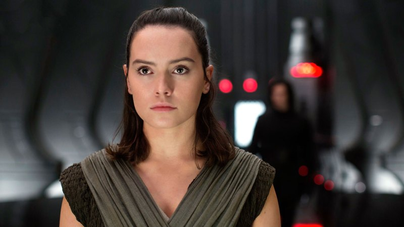 Daisy Ridley as Rey in Star Wars The Last Jedi