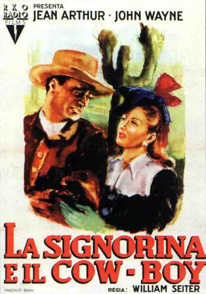 Locandina La signorina e il cowboy