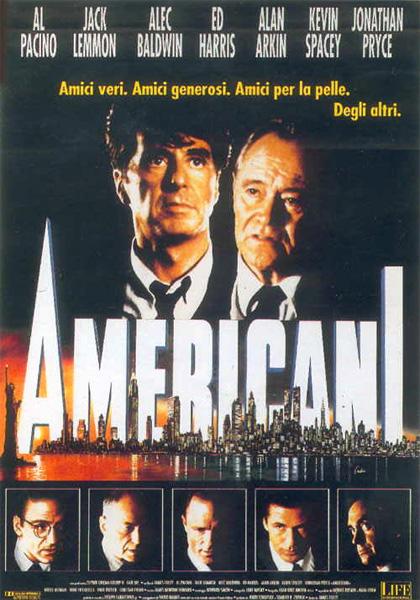 Locandina italiana Americani