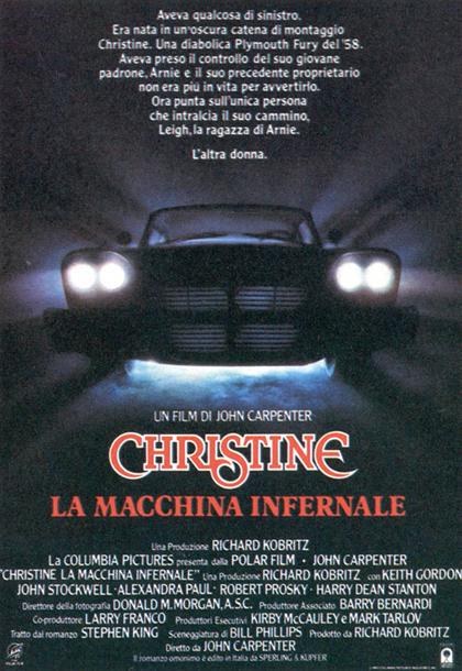 Locandina italiana Christine la macchina infernale