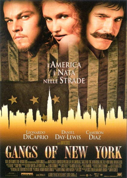 Locandina italiana Gangs of New York