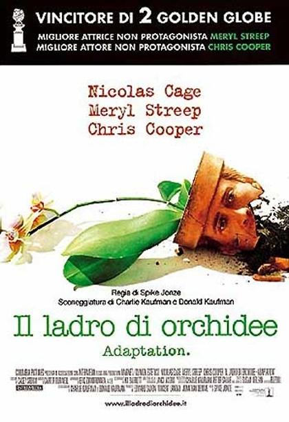 Locandina italiana Il ladro di orchidee