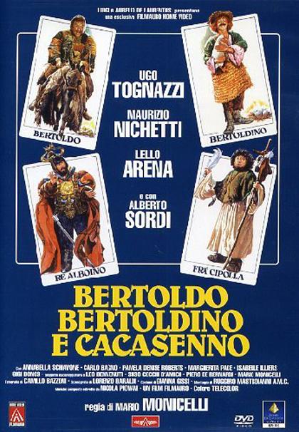 Locandina Bertoldo, Bertoldino e Cacasenno