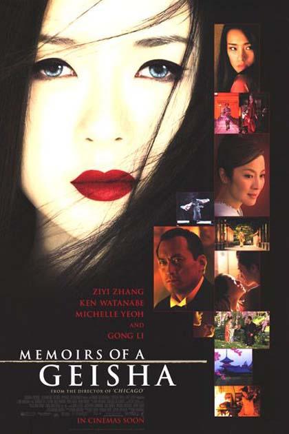 Risultati immagini per memorie di una geisha film