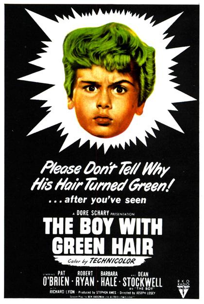 Locandina Il ragazzo dai capelli verdi