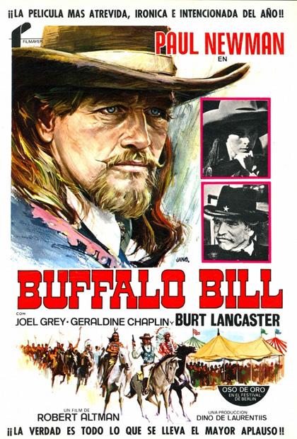 Locandina italiana Buffalo Bill e gli indiani