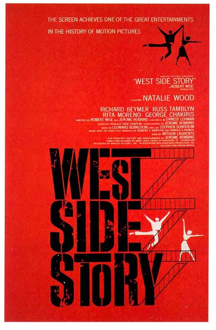 Locandina italiana West Side Story